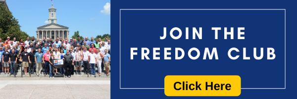 Freedom Club Application banner
